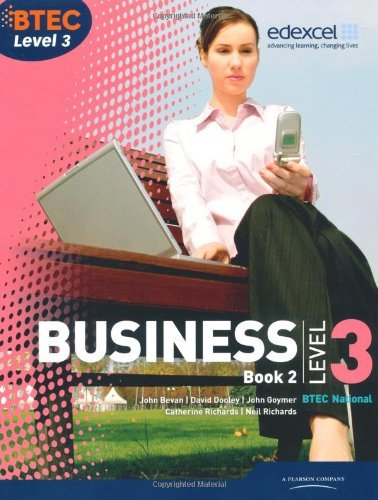 BTEC Level 3 National Business Student Book 2: book 2 (Level 3 BTEC National Business) by Catherine Richards (2010-08-24)