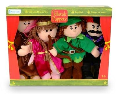 Juego de marionetas Robin (Fiesta Crafts)