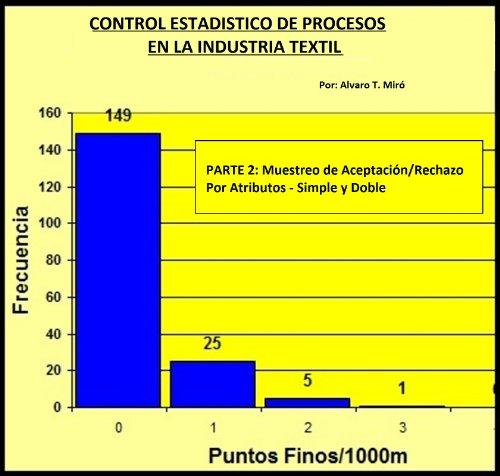 Control Estadistico de Procesos en la Industria Textil (2) (Muestreo de Aceptación/Rechazo Simple y Doble) por Alvaro  Miró