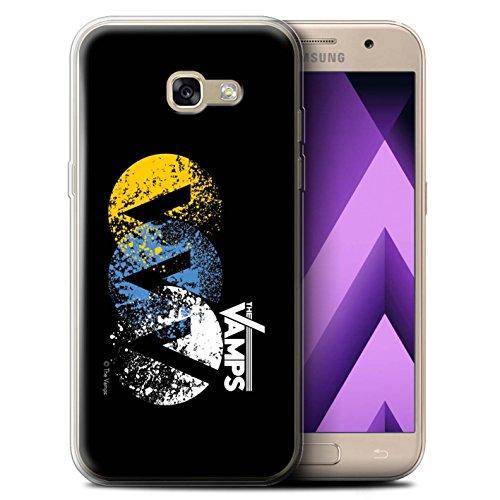 Preisvergleich Produktbild Offiziell The Vamps Hülle / Gel TPU Case für Samsung Galaxy A5 (2017) / VVV Muster / The Vamps Graffiti Band Logo Kollektion