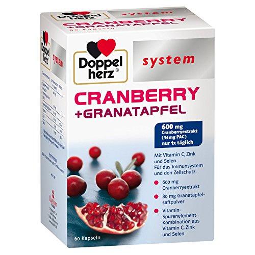 Doppelherz system CRANBERRY + GRANATAPFEL, 60 St. Kapseln
