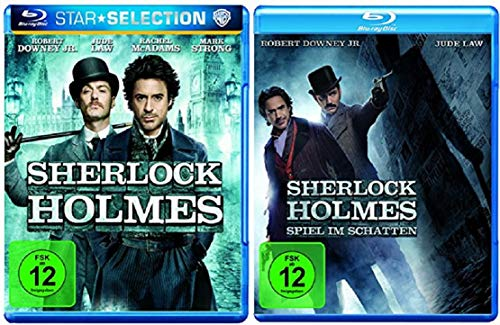 Sherlock Holmes Teil 1+2 Die Kinofilme [Blu-ray Set]