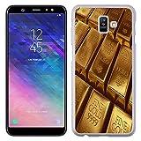 Lapinette Shell für Samsung-Galaxy A6 Plus starr Muster Barren d'or