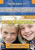 wissen.de Grundschul-Trainer, 4. Klasse, 1 CD-ROM Mathe, Deutsch, Englisch. Effektives Lernen spielend leicht. Abgestimmt auf die Lehrpläne der Schulen. Für Windows 95/98/ME/2000/XP und MacOs 8.0/9.0