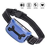 Best Dog Bark Collars - WOLFWILL Humane Bark Collar Adjustable 7 Sensitivity No Review