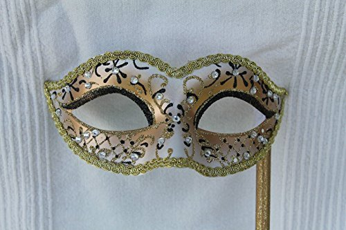 mascara-veneciana-con-palo-carnaval-blanco-negro-dorado