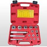 17tlg. Radlager Werkzeug Set Radlagerwerkzeug Abzieher Radlagerabzieher Montage