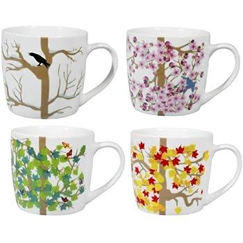Puhlmann Set of 4 Season Mugs