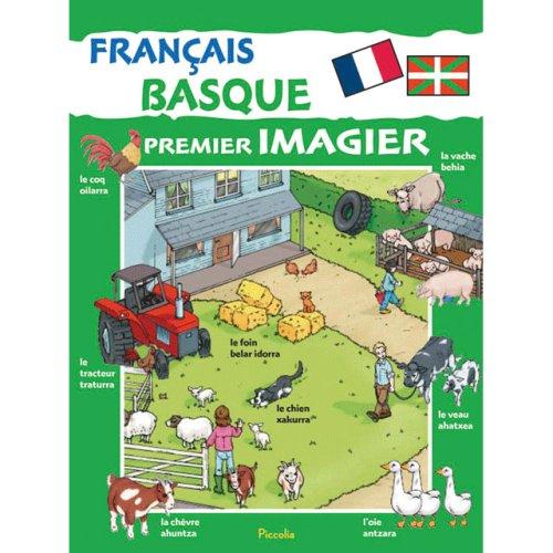 Premier imagier Français-Basque par Piccolia