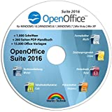 Open Office Suite 2016 Home Student Professional - 100% kompatibel mit Microsoft® Office® Word® und Excel® für Windows 10-8-7-Vista-XP