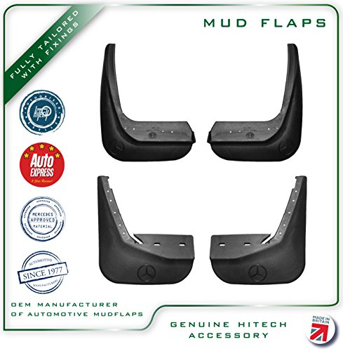 Genuine Hitech Mercedes C Class W202 Mudflaps 1994-2000, used for sale  Delivered anywhere in UK