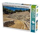 Das in den Felsen gehauene antike Theater von Argos fasste 20.000 Zuschauer, Argolis, Peloponnes, Griechenland 1000 Teile Puzzle quer (CALVENDO Orte)