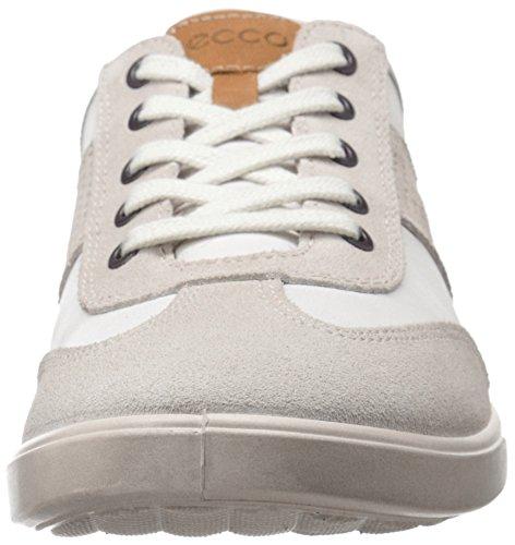 ECCO Collin, Scarpe Stringate Uomo Bianco(Gravel/White 58498)