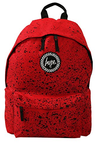 hype-backpack-bags-rucksack-school-bag-for-boys-girls-christmas-gift-red-speckle