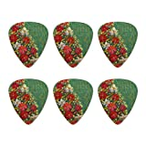Christmas Holiday Tree Giving Faith Family Gitarre Plektrum Plektron Picks Medium 6 Stück