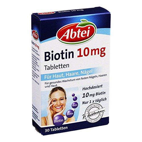 Abtei Biotin 10 mg, 30 St. Tabletten
