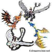Brixtoys Bay How to train your dragon 4 sets construction set #C49 1-4