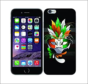 Galaxy Printed 2056 Football Carnival Hard Cover for Apple Iphone 6