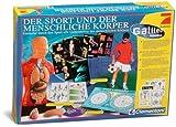 Galileo - Der Sport und der menschliche Körper, mit zerlegbarem Kunststoff-Modell und Handbuch
