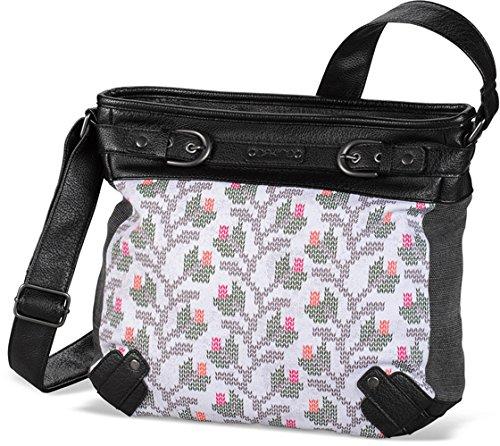 DAKINE Damen Tasche Tessa 10 Liters, Knit Floral Natural, 33 x 31 x 13 cm, 8220097 (Handtasche Damen Floral)