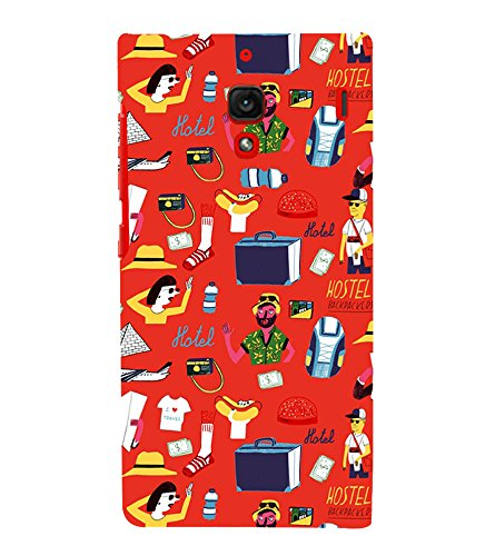 printtech  Premium Best Quality Multi color  Designer Printed back cover Back Case Cover for Xiaomi Redmi 1S / Xiaomi Redmi (1st Gen)