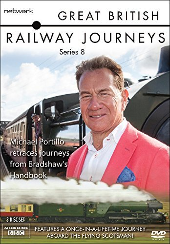 Great British Railways Journeys: The Complete Series 8 [DVD] [UK Import]