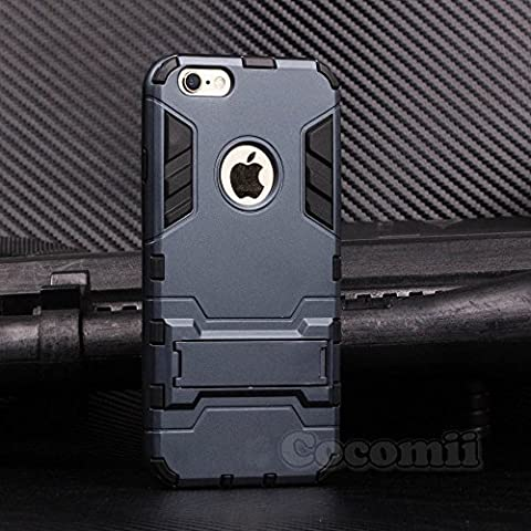 iPhone 6S / iPhone 6 Coque, Cocomii Iron Man Armor NEW [Heavy Duty] Premium Tactical Grip Kickstand Shockproof Hard Bumper Shell [Military Defender] Full Body Dual Layer Rugged Cover Case Étui Housse Apple