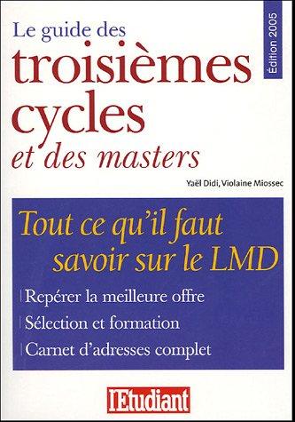 Le guide des troisièmes cycles et des masters