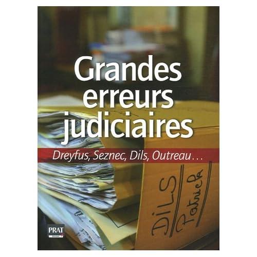 Les grandes erreurs judiciaires