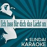 Ich lass für dich das Licht an (Karaoke Version) (Originally Performed By Revolverheld)