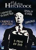 Collection Hitchcock L'homme qui en savait trop - l'Auberge de la Jamaïque- Junon et la paon - Chantage (4 DVD)