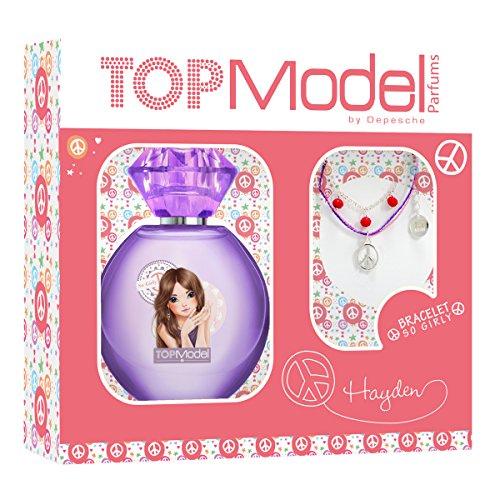 Coffret Hayden eau de toilette 30ml So Girly + bracelet - TOP Model