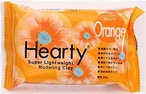 Pâte à modeler Hearty orange super légère japonaise