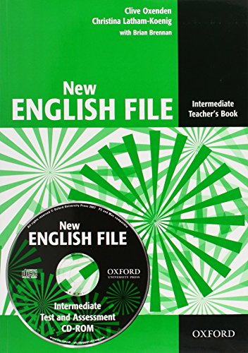New English File Intermediate: Teacher's Book Pack: Teacher's Book with Test and Assessment CD-ROM Intermediate level (New English File Second Edition)