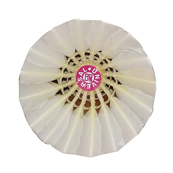 ALBATROSS UNIVERSAL Badminton Feather Shuttle Cock (Pack of 10)