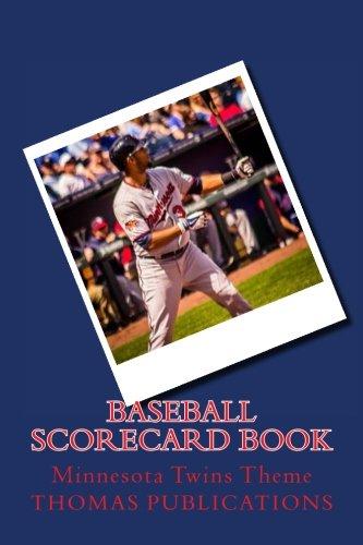 Baseball Scorecard Book: Minnesota Twins Theme por Thomas Publications