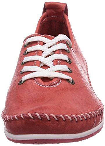 Andrea Conti - 0027400, Scarpe stringate Donna Rosso (Rot (rot 021))