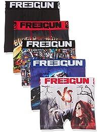 Freegun Freegun X5 - Boxer Lot de 5  - Garçon