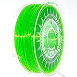 NuNus PETG Filament 1KG (1.75mm, transparent grün) *Premium Qualität in verschiedenen Farben,geeignet für 3D Drucker,3D Pen, MakerGear Ultimaker uvm