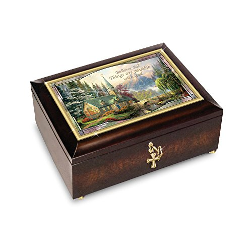 Used, Thomas Kinkade 'Believe All Things Are Possible' Music for sale  Delivered anywhere in Ireland