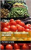 Schneidegerät zum Portionieren von Gemüse: Manuell handbares Schneidegerät zum Schneiden, Portionieren von Gemüse, Obst oder dgl.