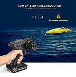 XUXUEJIAO Motoscafo Ad Alta velocità del Motoscafo Ad Alta velocità di Rc Alta velocità della Copertura Doppia Modello Impermeabile di Modello del Giocattolo del Motoscafo di velocità 2.4G