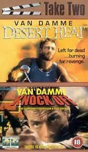 Desert Heat/Knock Off [VHS]