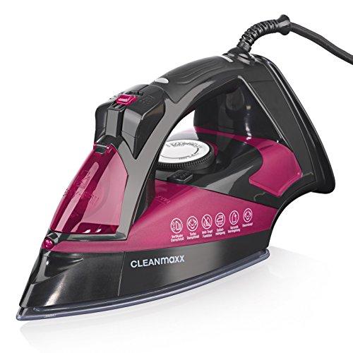 Cleanmaxx Nano–Plancha de vapor de cerámica 2600W (con chorro de vapor Función)