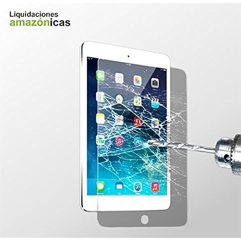 Ipad MINI 1, Ipad MINI 2 y Ipad MINI 3 protector de pantallas de vidrio templado (tempered glass) para pantallas portátiles. Apple ipad MINI 1 protector de pantalla. Apple Screen protector. Sin burbujas, libre de polvo y sin huellas dactilares. Válido para Apple Ipad MINI