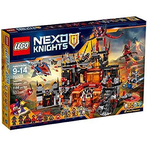 LEGO Nexo Knights 70323 - Set Costruzioni Il Palazzo Vulcanico Di (4 A Castello)