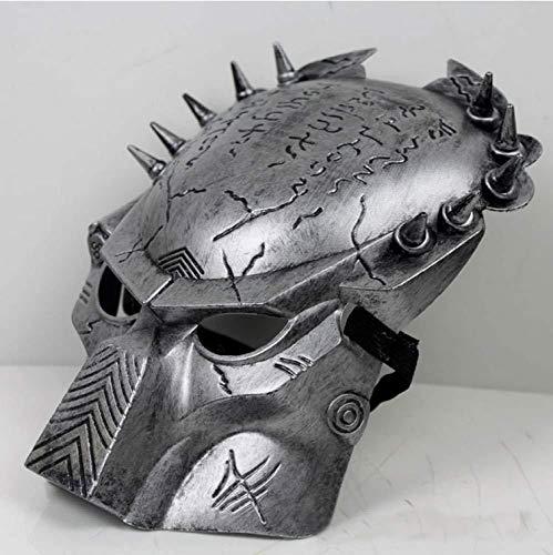 Alien Kinder Vs Predator Kostüm - Halloween Maske,Predator Masken Horror Maskerade Kostümfest Cosplay Kostüm Scary Masken Für Halloween Day Party,Gold