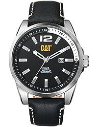 CAT Oslo Men's Watch Black Dial 45 MM Black Leather Strap WT14134131
