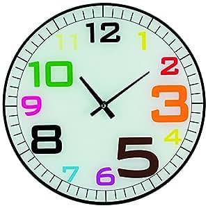Sans Marque D7537 Horloge 34 cm