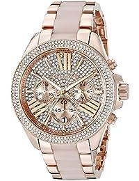 Michael Kors MK6096 - Reloj  color oro rosa